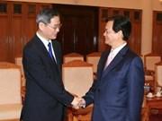 越南政府总理会见中国外交部副部长