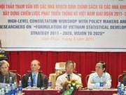 2011-2020年阶段越南统计系统发展战略即将出台