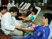 呼吁全国人民积极参加自愿献血活动