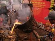 河内市动工铸造西湖金牛铜像