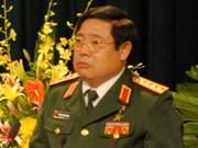 越南高级军事代表团正式访问印尼和参加东盟国防部长会议