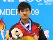 越南游泳选手夺得参加2012年世奥运资格