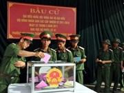 全国武装力量单位基本完成选举工作
