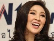 英拉当选泰国首位女总理