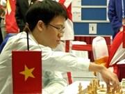越南棋手黎光廉参加2011年世界国际象棋锦标赛