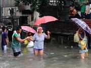 超强台风南玛都登陆菲律宾北部