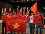 2011年亚太大学生机器人大赛越南获得季军