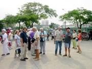 九•二国庆节期间岘港市停留游客猛增