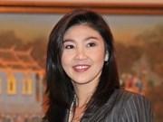 泰国总理承诺尽快稳定政治和经济局势