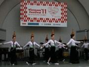 在日本东京的越南文化节正式拉开帷幕
