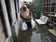 洪水对泰国、柬埔寨和菲律宾造成严重影响