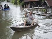 泰国严重洪灾致使237人丧生