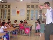 越南在国民教育系统展开外语教学提案