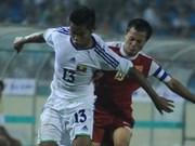 越南U23足球队以5比0打败了缅甸U 23足球队