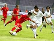 第26届东运会越南U23足球队以3比1击败菲律宾队