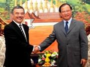 越南通讯社与老挝通讯社加强合作