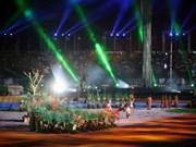 第26届东南亚运动会主火炬点燃