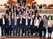 阮晋勇总理会见第13届国会企业家代表