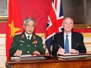 越南与英国签署国防合作备忘录