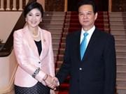 泰国总理对越南进行正式访问