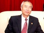 越南祖国阵线代表团访问柬埔寨