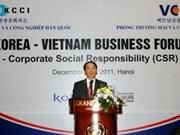 越南与韩国推动贸易投资合作