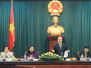 国会主席阮生雄会见越南驻各国大使和首席代表