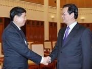 越南和老挝加强卫生和电信领域的合作