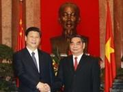 中国国家副主席习近平对我国进行正式访问
