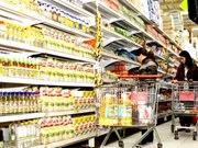 今年12月份河内和胡志明市消费物价指数稍增