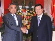 国家主席张晋创会见泰国上议院议长