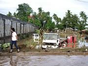 菲律宾提出第二个热带风暴威胁该国南部的警告