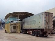 越南通往老挝劳宝国际口岸安装集装箱扫描系统