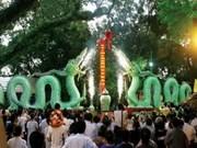 升龙-河内两条陶瓷巨龙剪彩仪式在河内举行