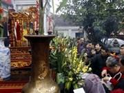 南定省陈庙开印仪式吸引数千人参加