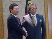 越南外交部长对马来西亚进行正式访问
