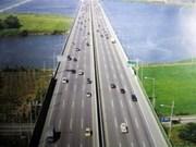 确保河内至海防高速公路将于2014年底竣工通车