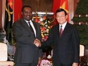 越南领导会见外国客人