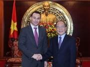 越南与比利时重视加强教育领域合作