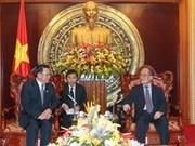 越柬建交45周年促进两国国会合作
