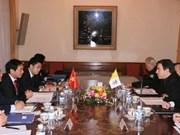 梵蒂冈代表高度评价越南在宗教领域所作出的努力