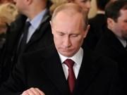 越南领导致电祝贺普京当选俄罗斯总统