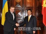 越南与乌克兰加强合作关系