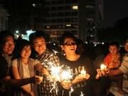 """越南积极响应2012年""""地球一小时""""活动"""