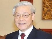 越共中央总书记阮富仲即将出访古巴和巴西
