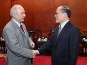 越南国会主席阮生雄会见罗马尼亚和伊拉克驻越大使