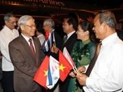 越共中央总书记阮富仲抵达哈瓦那对古巴进行正式友好访问