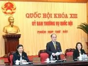 越南第十三届国会常委会第七次会议在河内召开