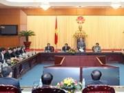 国会主席会见我国新任驻外大使和总领事
