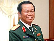 越南人民军高级代表团访华